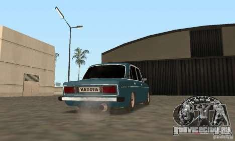 ВАЗ 2106 Light Tuning для GTA San Andreas вид сзади слева