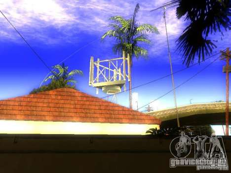 База Гроув стрит для GTA San Andreas четвёртый скриншот