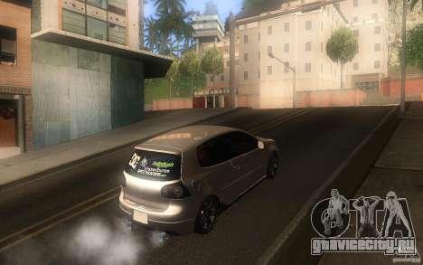Volkswagen Golf MK5 для GTA San Andreas вид справа