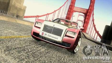 Rolls-Royce Ghost 2010 V1.0 для GTA San Andreas салон