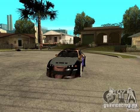 Mitsubishi Eclipse RZ 1998 для GTA San Andreas вид сзади