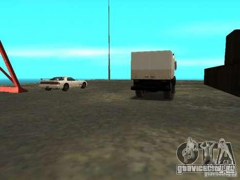Оживление военной базы в доках для GTA San Andreas девятый скриншот