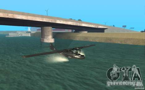 PBY Catalina для GTA San Andreas вид слева