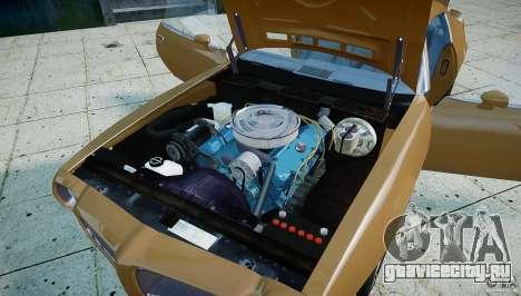 Pontiac Firebird 1970 для GTA 4 вид сзади