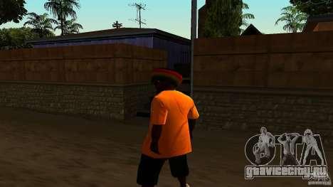 Jamaican Guy для GTA San Andreas третий скриншот