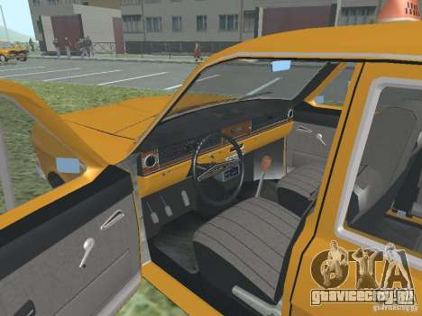 ГАЗ 24-01 Такси для GTA San Andreas вид сбоку