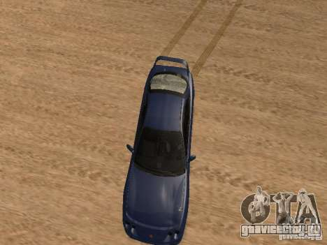 Acura RSX Light Tuning для GTA San Andreas вид изнутри