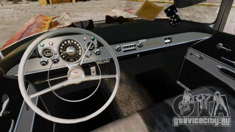 Chevrolet Bel Air 1957 ржавый для GTA 4 вид сзади
