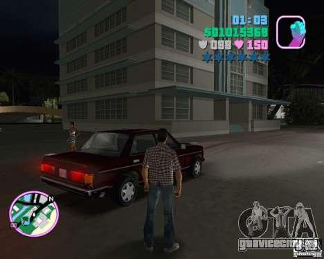 Новый Admiral для GTA Vice City вид слева