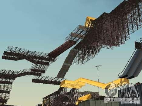 Huge MonsterTruck Track для GTA San Andreas второй скриншот