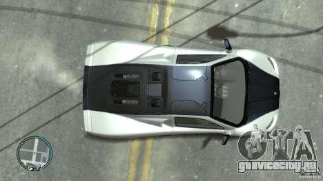 Shelby Super Cars Ultimate Aero для GTA 4 вид сзади