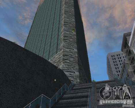 Новые текстуры небоскрёба для GTA San Andreas второй скриншот