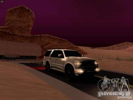 Ford Expedition 2008 для GTA San Andreas вид сверху