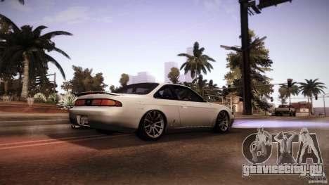 Nissan Silvia S14 Zenk для GTA San Andreas вид справа