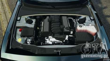 Dodge Challenger SRT8 392 2012 Police [ELS][EPM] для GTA 4 вид сверху