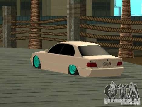 BMW 750i JDM для GTA San Andreas вид слева
