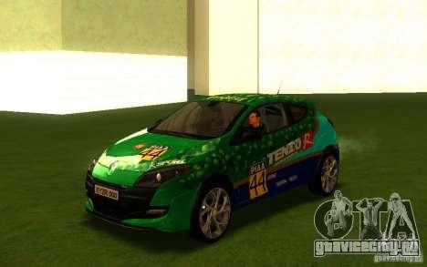 Renault Megane RS для GTA San Andreas вид сбоку