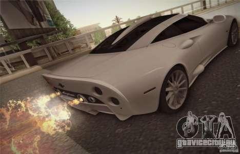 Spyker C8 Aileron для GTA San Andreas вид справа