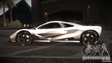 McLaren F1 LM для GTA San Andreas вид слева