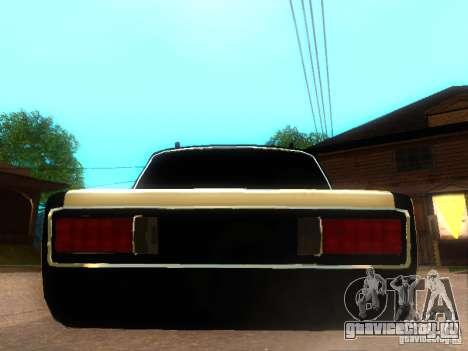 Ваз 2106 dag style для GTA San Andreas вид сзади слева