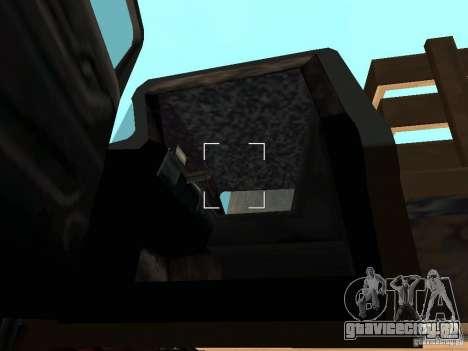 Walton Monster для GTA San Andreas вид изнутри