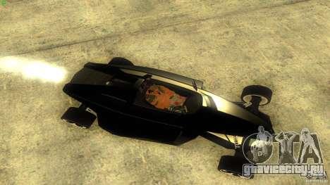 Lamborghini Concept для GTA San Andreas вид сзади слева