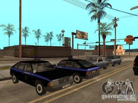 АЗЛК 21418 Патруль для GTA San Andreas вид изнутри