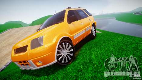 Ford EcoSport для GTA 4 вид сзади слева