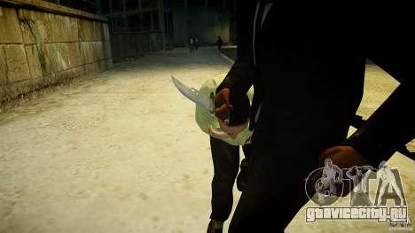 B.A.K. Knife для GTA 4 третий скриншот