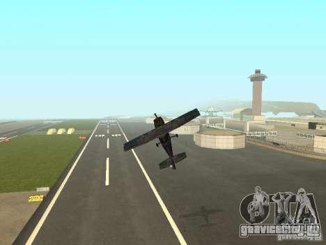 Новый самолёт Dodo для GTA San Andreas вид снизу
