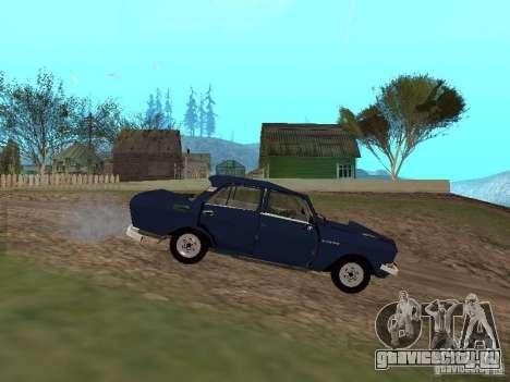 Москвич Побитый для GTA San Andreas вид слева
