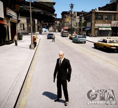 Hitman Blood Money Skin для GTA 4 четвёртый скриншот