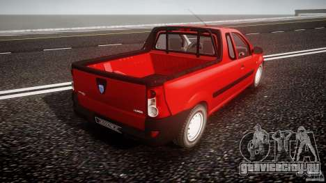 Dacia Logan Pick-up ELIA tuned для GTA 4 вид сверху
