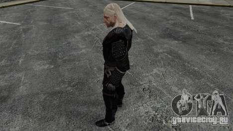 Геральт из Ривии v7 для GTA 4 четвёртый скриншот