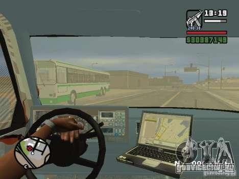 GMC Sierra Tow Truck для GTA San Andreas вид сверху