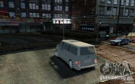 Volkswagen Transporter T4 для GTA 4 вид слева