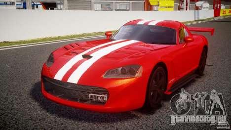 Dodge Viper RT 10 Need for Speed:Shift Tuning для GTA 4