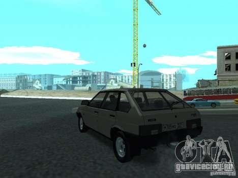 ВАЗ 2109 CR v.2 для GTA San Andreas вид сзади слева