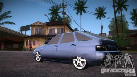 ВАЗ 2112 LT для GTA San Andreas вид сзади слева