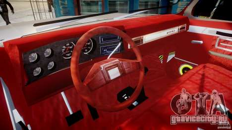 Chevrolet Silverado 1977 для GTA 4 вид справа