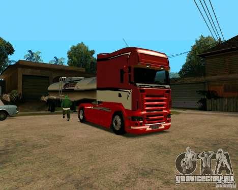 Scania TopLine для GTA San Andreas вид слева