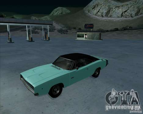 Dodge Charger RT HEMI 1968 для GTA San Andreas