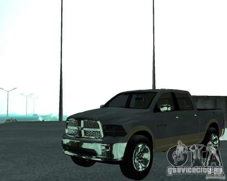Dodge Ram Hemi для GTA San Andreas вид справа