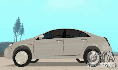 Nissan Primera для GTA San Andreas вид сзади слева