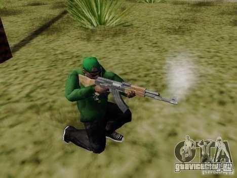 AK-47 из Saints Row 2 для GTA San Andreas третий скриншот