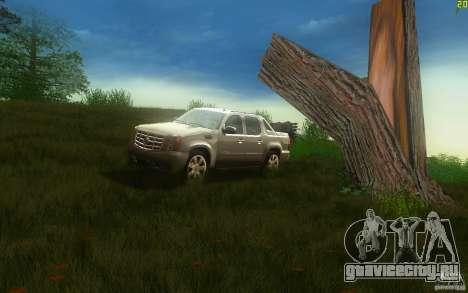 Cadillac Escalade EXT для GTA San Andreas вид слева