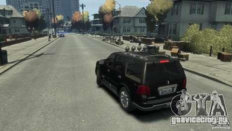 Lincoln Navigator для GTA 4 вид слева