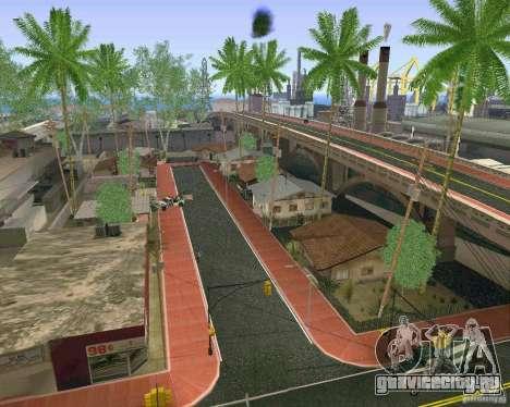 Новые Текстуры Лос-Сантоса для GTA San Andreas пятый скриншот