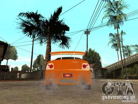 Dodge Neon для GTA San Andreas вид сзади слева