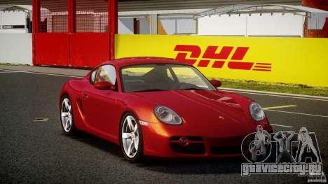 Porsche Cayman S v2 для GTA 4 вид справа